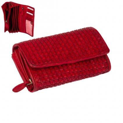 Velká peněženka červená