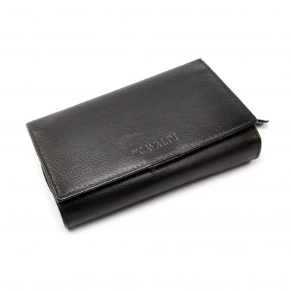 Černá dámská peněženka kožená - 2