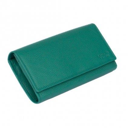 Barevná peněženka dámská kožená - 2