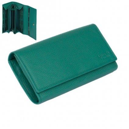 Barevná peněženka dámská kožená