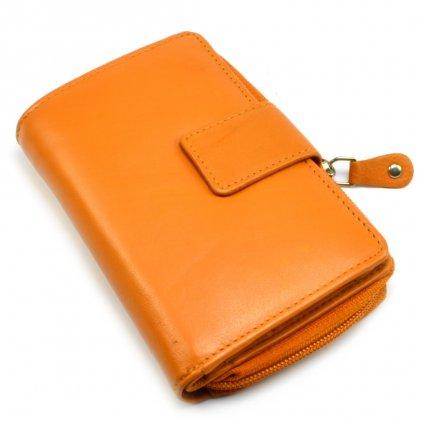 Malá peněženka oranžová - 2