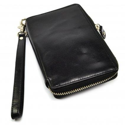 Černá peněženka dámská - 2