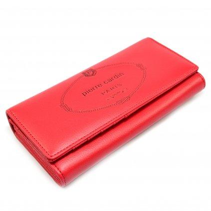 Velká dámská peněženka růžová - 2