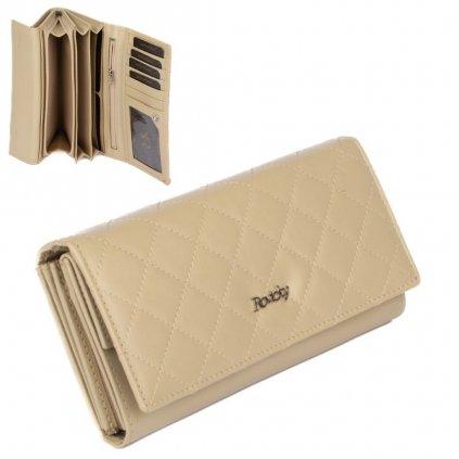 Luxusní dámská peněženka kožená
