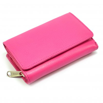 Růžová dámská peněženka - 2