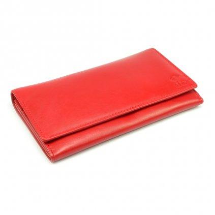 Červená dámská peněženka - 2