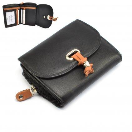 Dámská kožená peněženka - 1