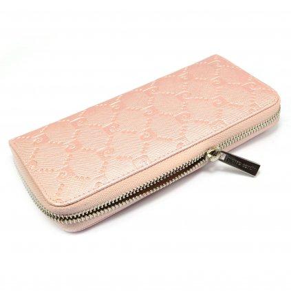 Růžová peněženka dámská - 2