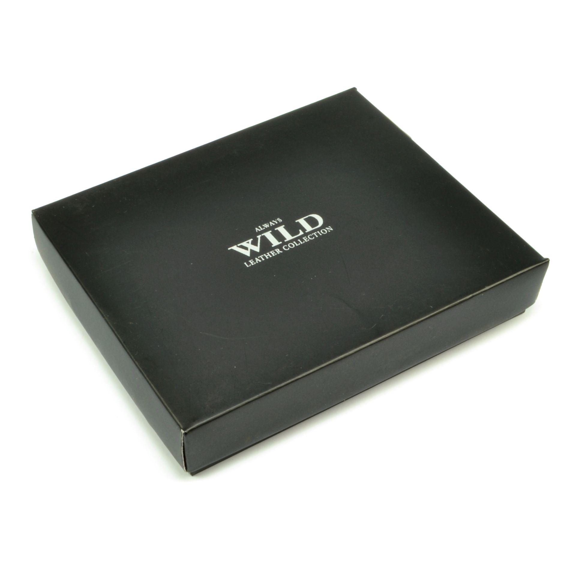 Always Wild Hnědá kožená peněženka pánská