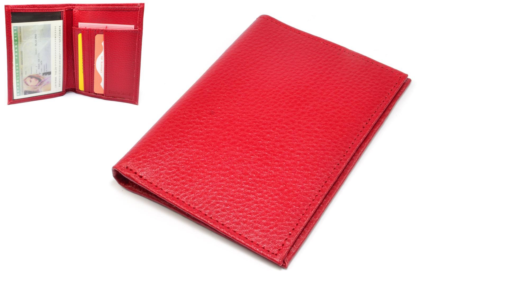 Cavaldi Pouzdro na doklady červené