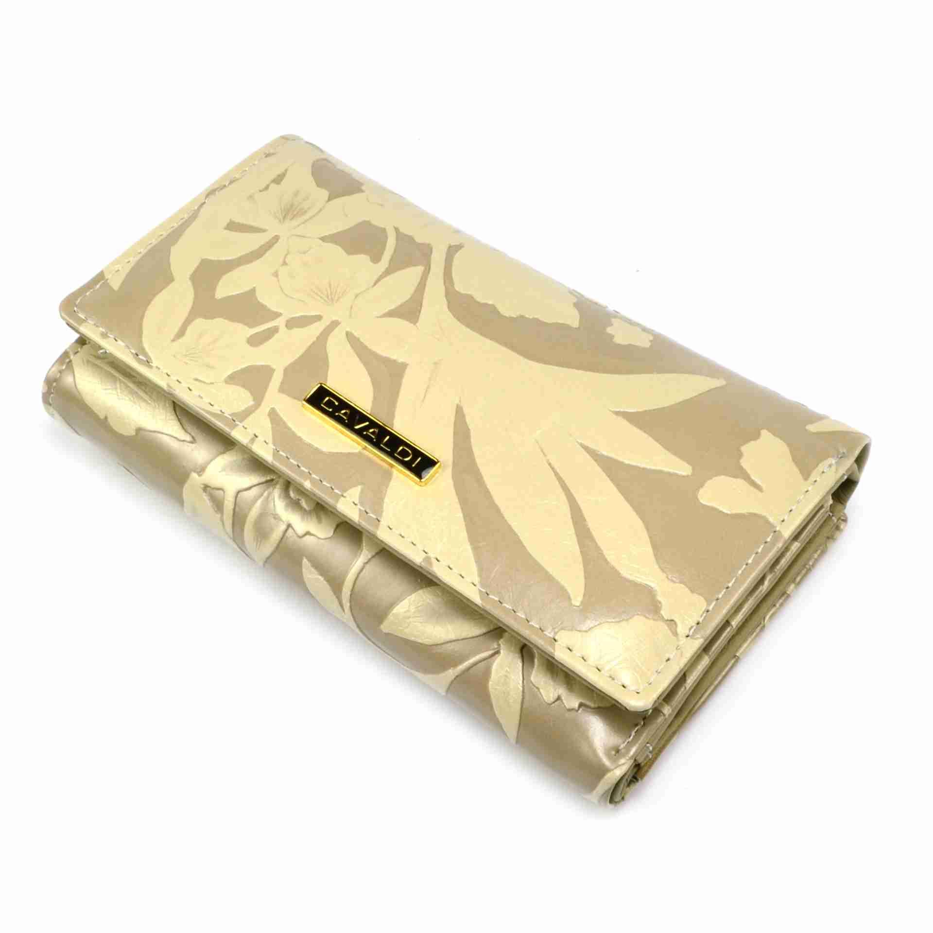 Always Wild Hnědá dámská peněženka kožená