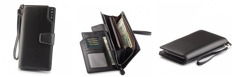 Moderní dámská peněženka Peterson, taška s opaskem