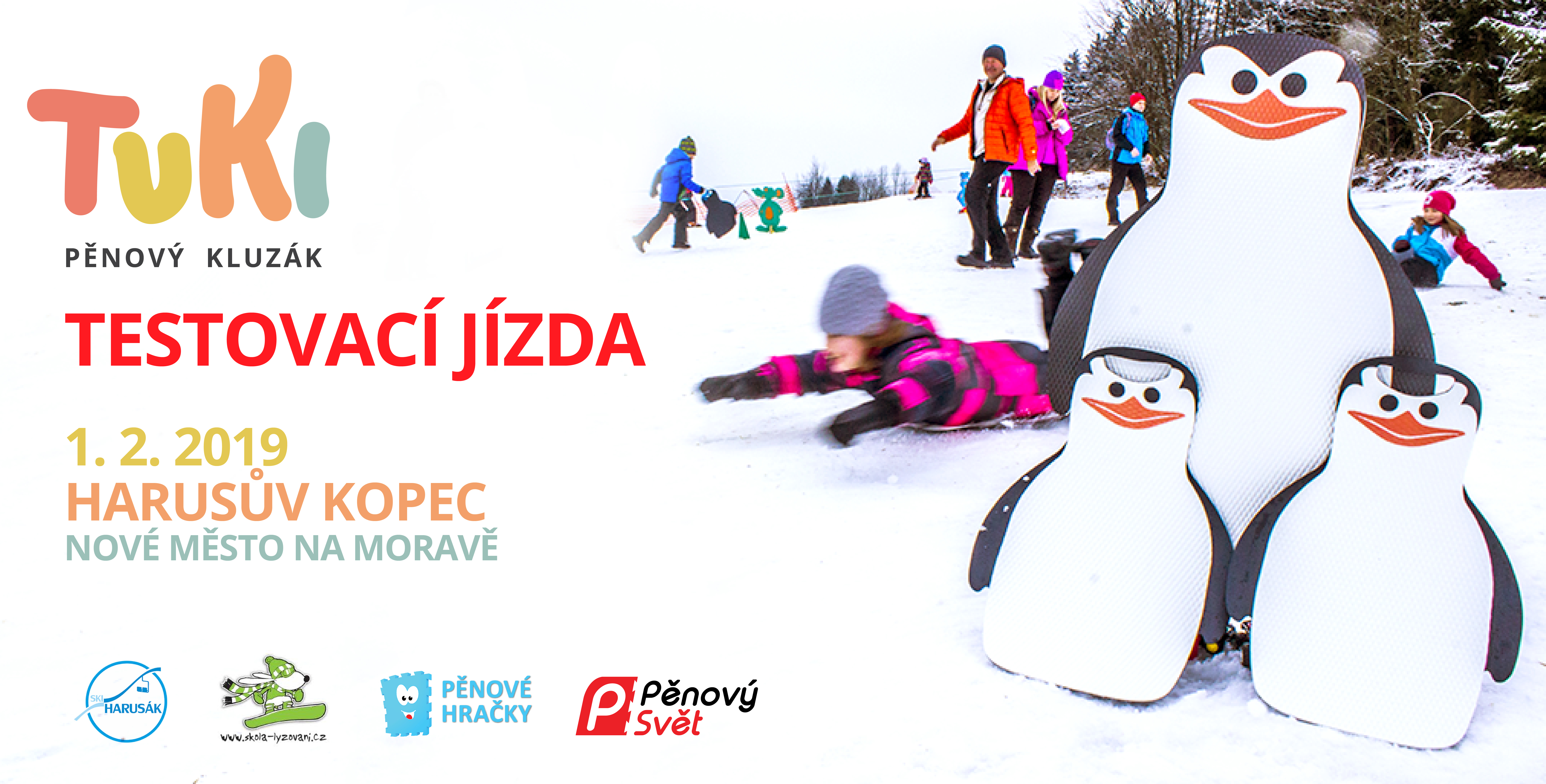 TUkiho jízda na ski Harusák 2019