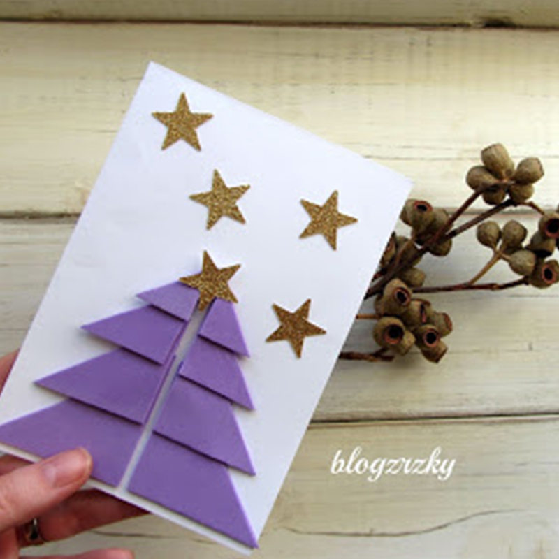 Blog Zrzky tvoří Vánoční přání