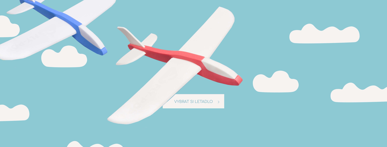 letadlo fly pop
