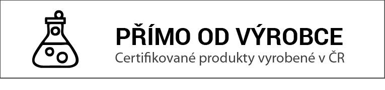 certifikovane produkty od výrobce