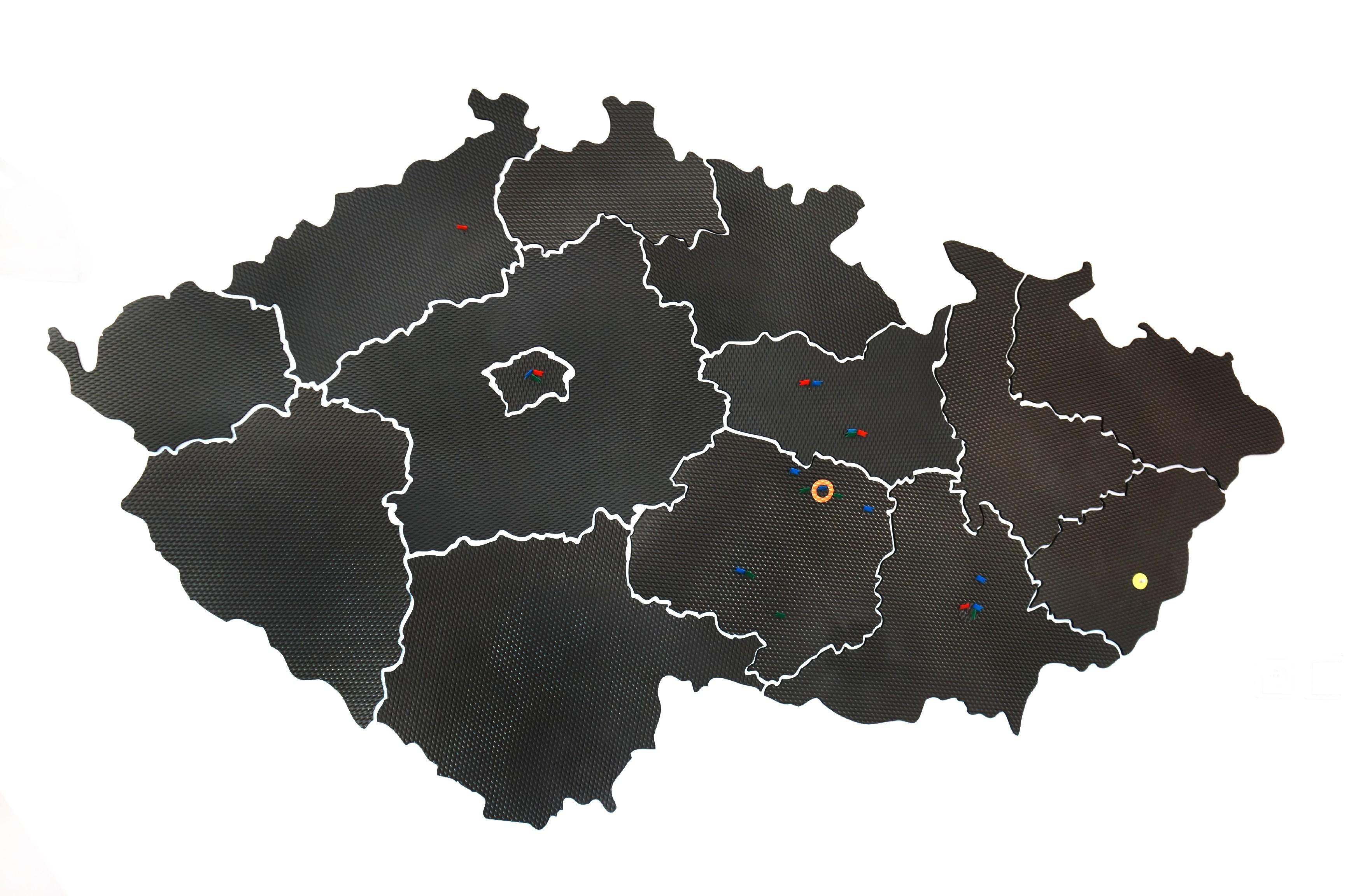 Výukové mapy ČR, SK a světa