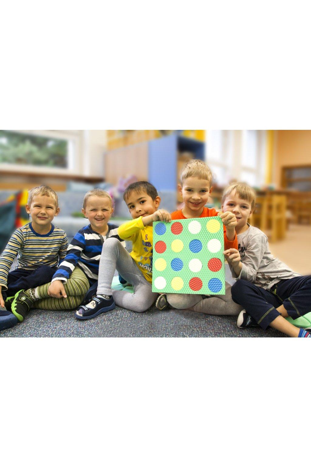 Pěnové sudoku - dětská a společenská hra