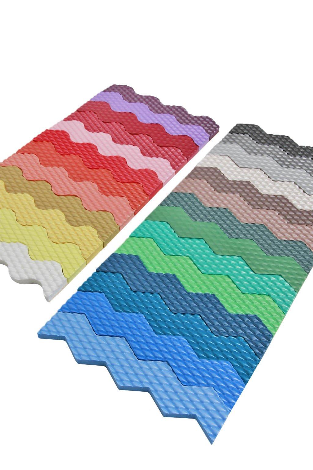 Vzorník barev ochrany stěn rozmer