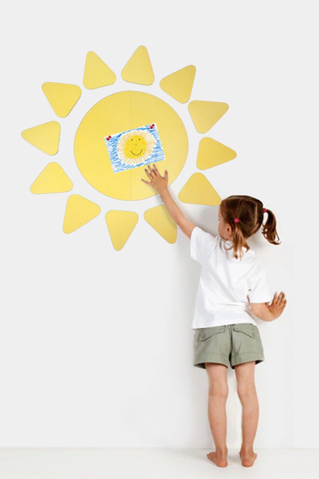 Nástěnka Sluníčko rozmer