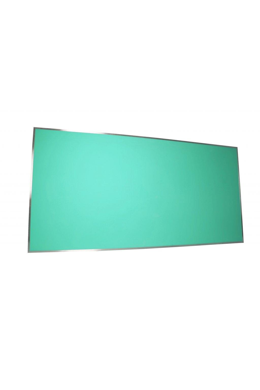 Pěnová nástěnka s hliníkovým rámem 200 x 100 cm
