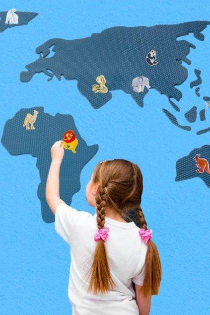 Mapa světa - II. jakost