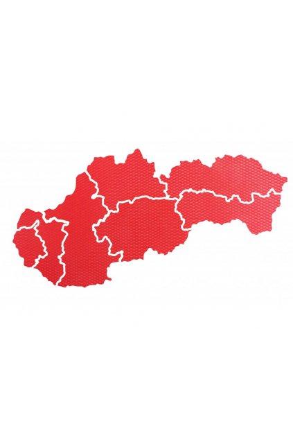 Mapa Slovenska - II. jakost