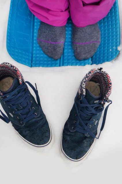 camping skládací podložka na sezení