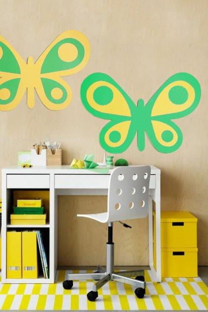 Nástěnka Motýl rozmer