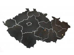 Mapa ČR nástěnka