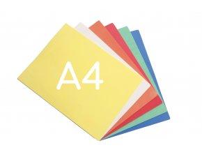 Pěnový papír A4 - Sada 6 ks  Sada 6 ks