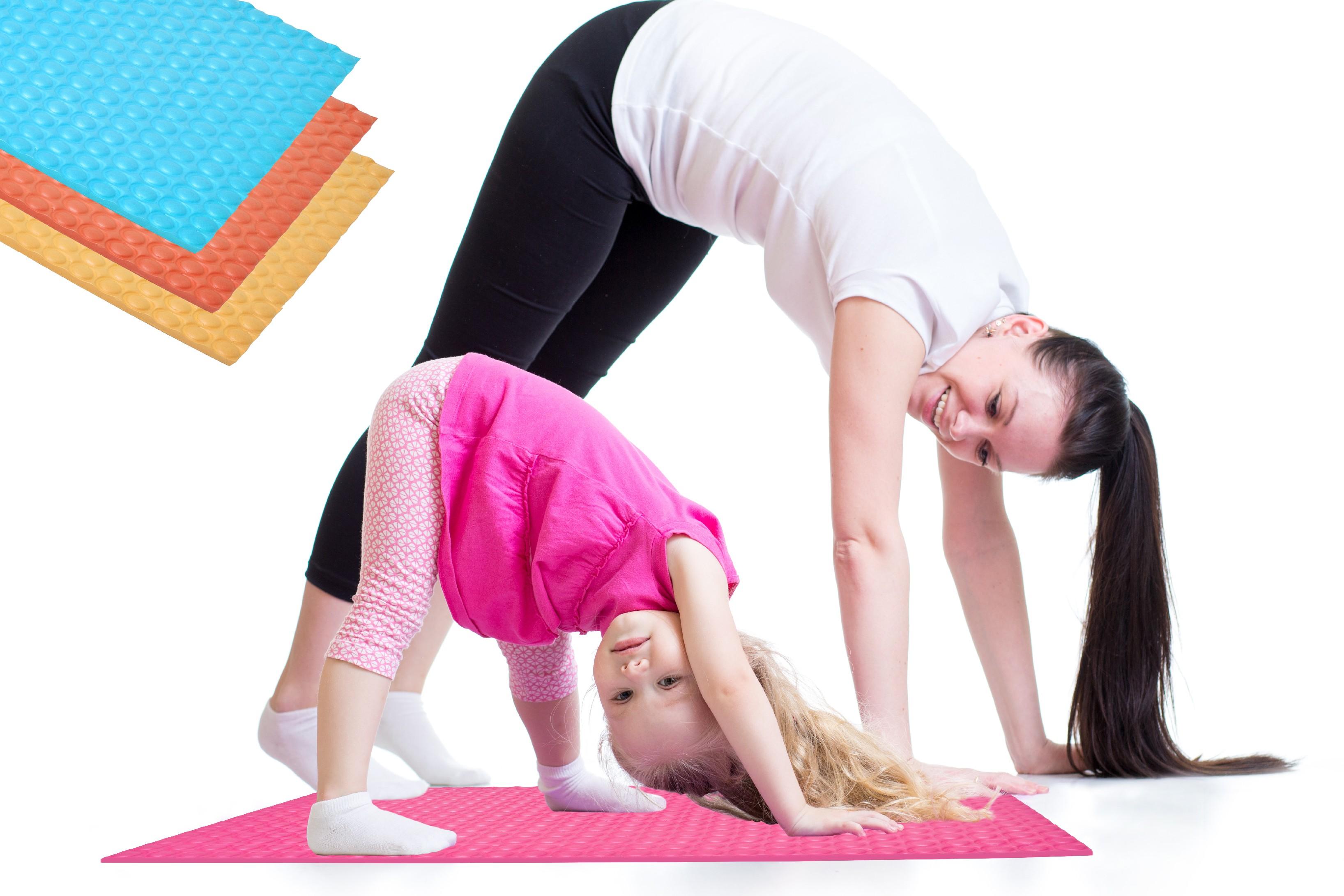 Dětská akupresurní cvičební podložka Barva: Bílá