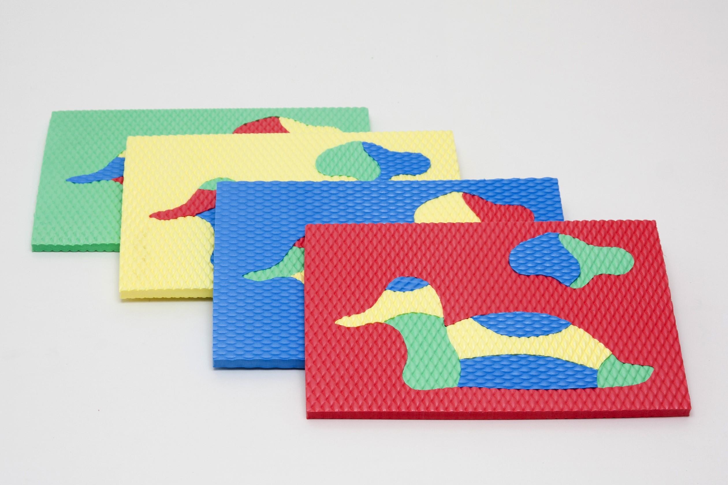 Vkládačka INSPIRA - sada 4 kusů Tvar: Geometrické tvary