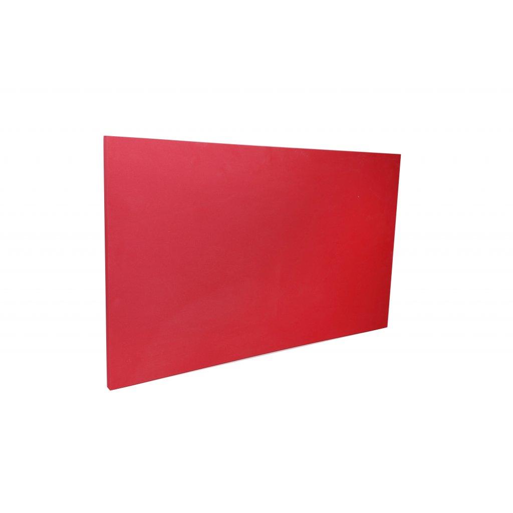 červena z boku