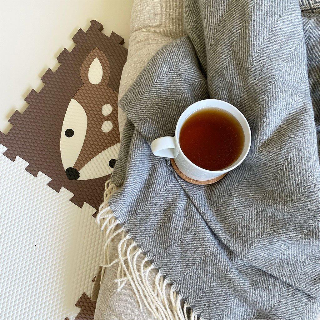 Minideckfloor podlaha 9 dílů - koloušek a méďové 0120