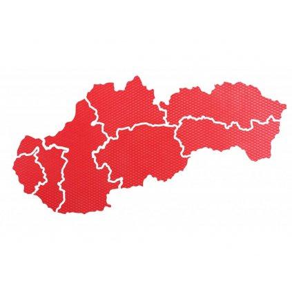Mapa Slovenska nástěnka