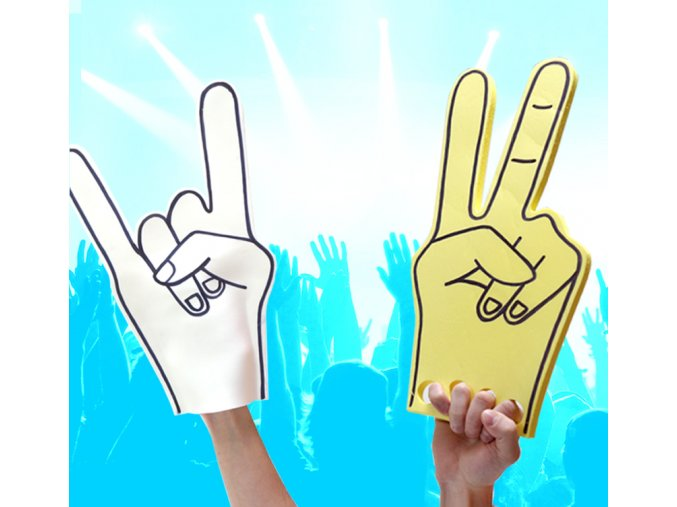 Festivalová fandítka - rukavice