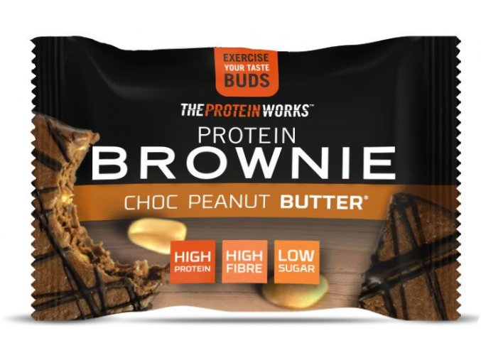 TPW Protein Brownie
