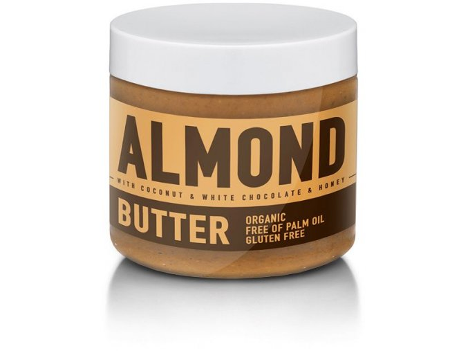 SizeAndSymmetry Nutrition Almond Butter with Coconut & White Chocolate & Honey