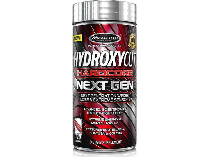 MuscleTech Hydroxycut HardCore series Next Gen