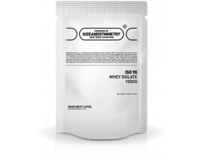 SizeAndSymmetry Nutrition ISO 90 CFM Whey Isolate
