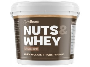 GymBeam Nuts&Whey Protein Peanut Butter