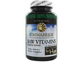 Sunwarrior Raw Vitamins for Him