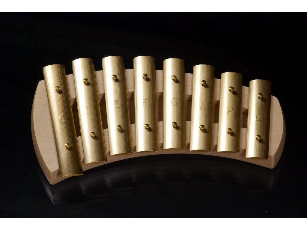 Zvonkohra Auris - diatonická - 8 tónů - zaoblené tělo - KDH - 008