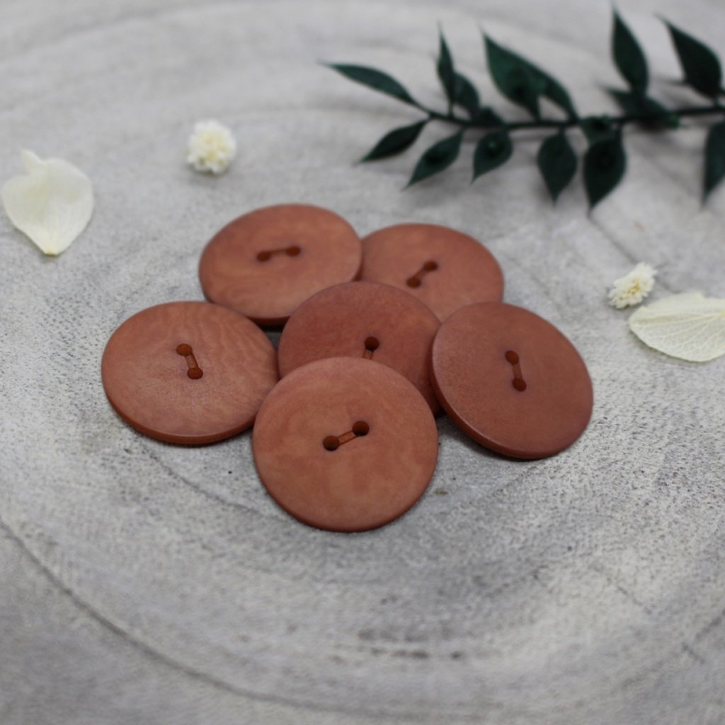 boutons palm chestnut