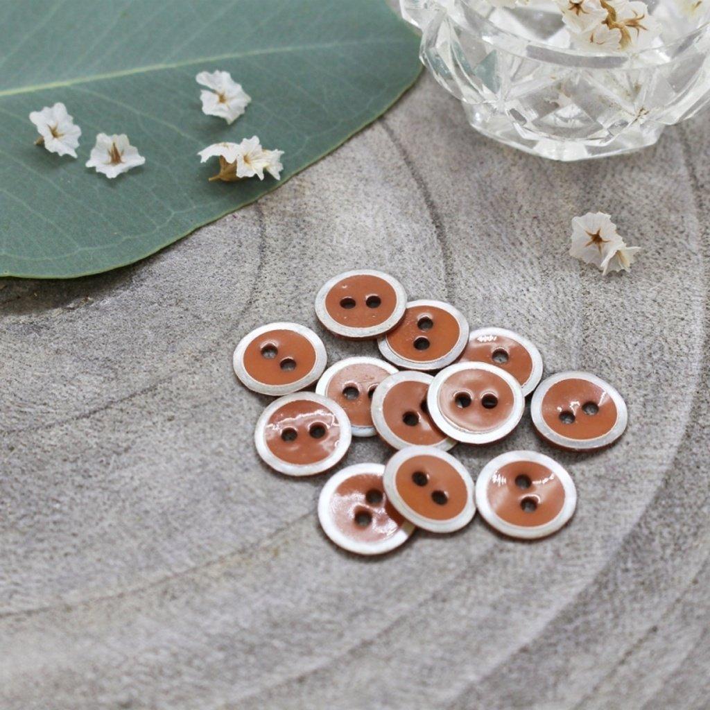 boutons halo chestnut