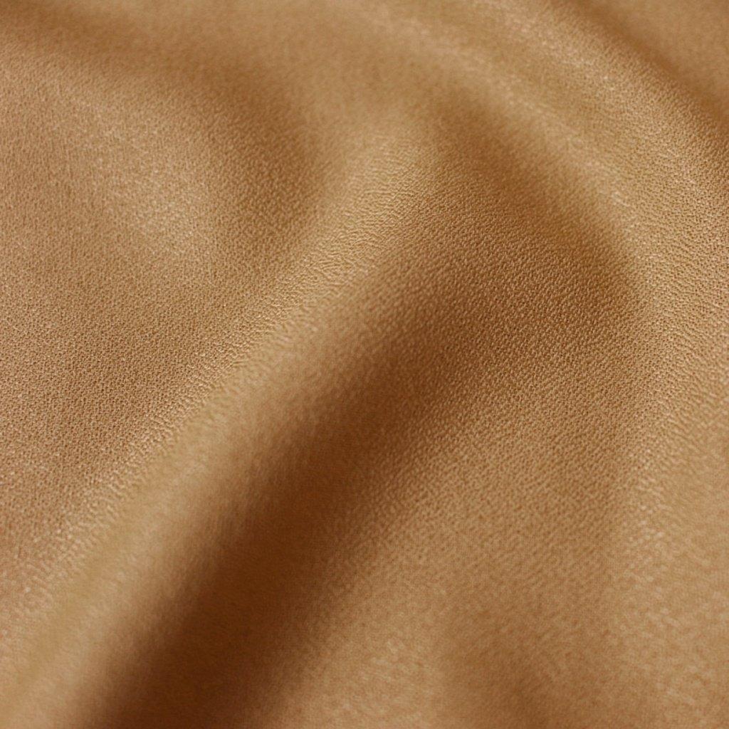 tissu crepe ochre
