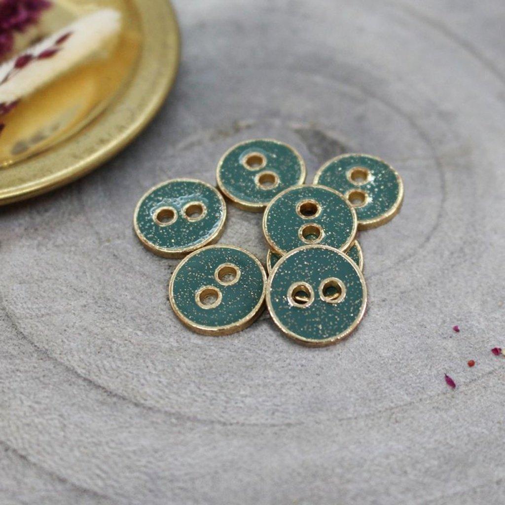 joy glitter buttons cactus