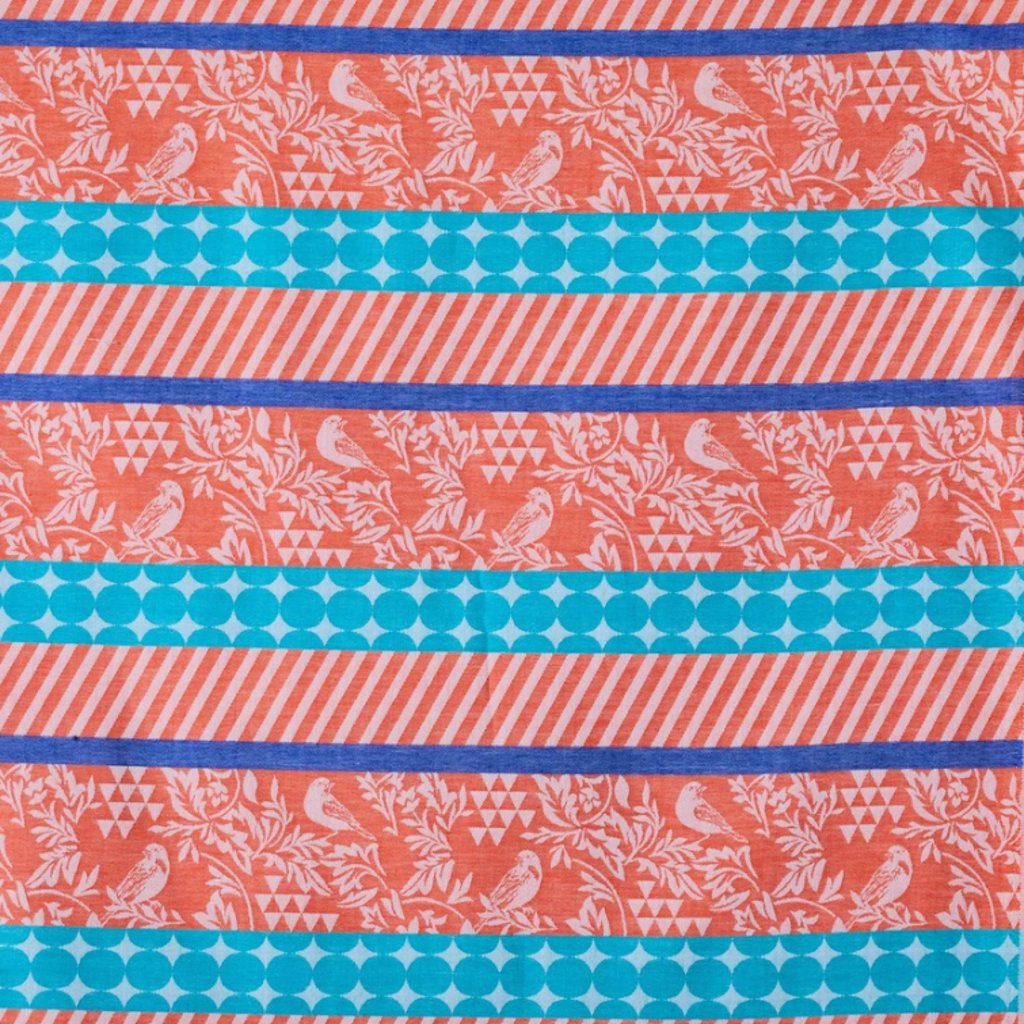 echino-zakar-bavlna-platno-orange