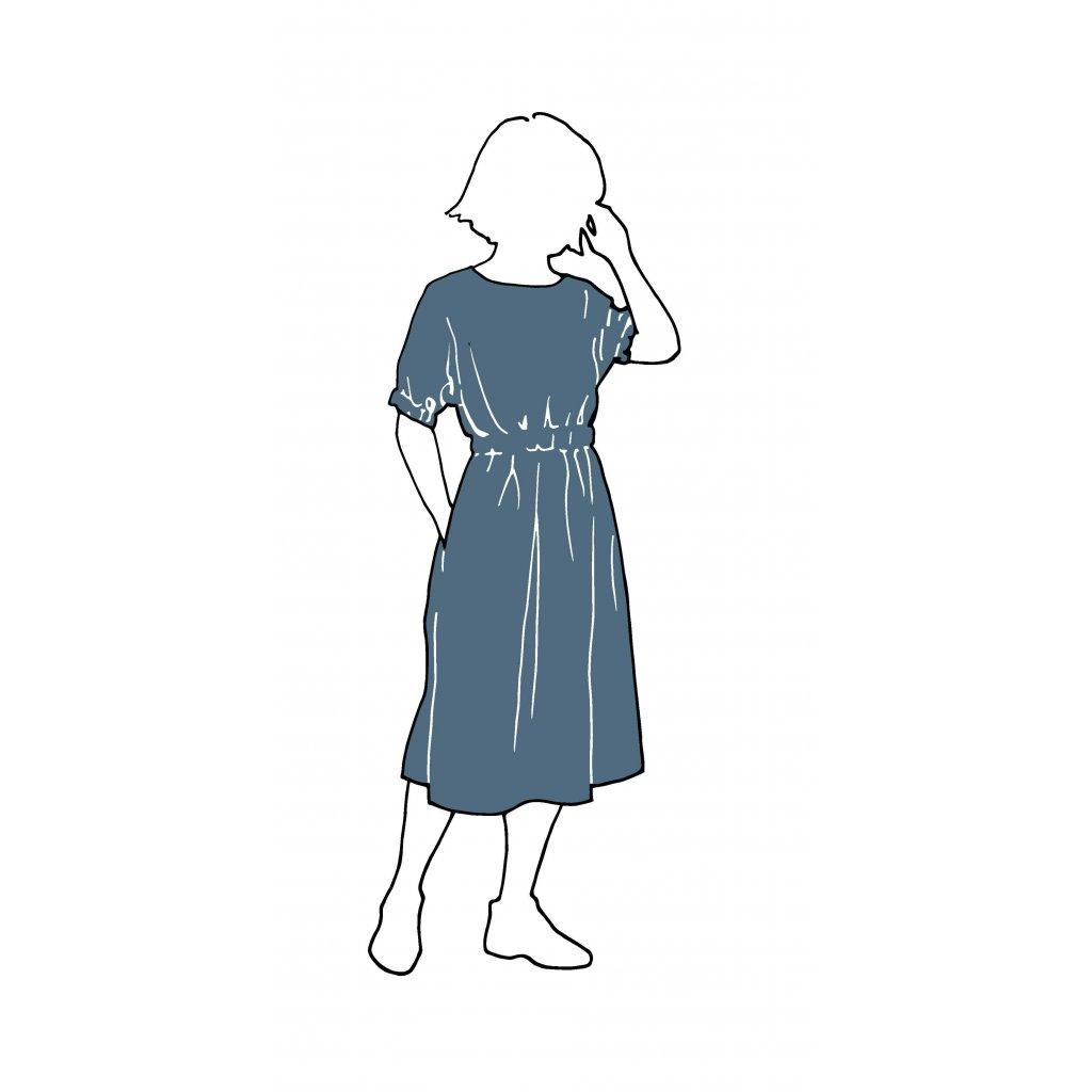 CUFF DRESS PATTERN Dresses XL 3XL Paper Swedish i6bm